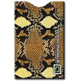 Safari Snake - Barevný bezpečnostní obal pro platební kartu
