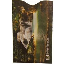 Vodopád 4 - Barevný bezpečnostní obal pro platební kartu