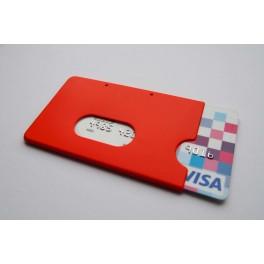 Pouzdro na kreditní karty, červené KB 117