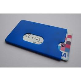 Pouzdro na kreditní karty, modré KB 117