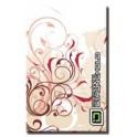 Swirls Quartz - Barevný bezpečnostní obal pro platební kartu