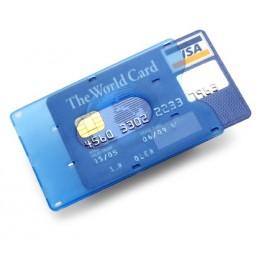 Pouzdro na kreditní kartu, modré